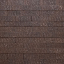 Natura Getrommeld 10x30x6 Old London antra brown